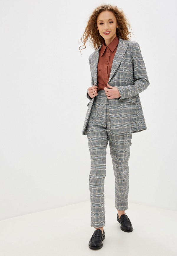 женский костюм fors, серый