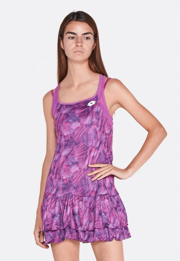 женское платье lotto, фиолетовое