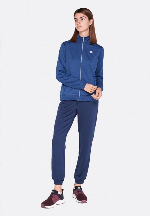 женский спортивные спортивный костюм lotto, синий
