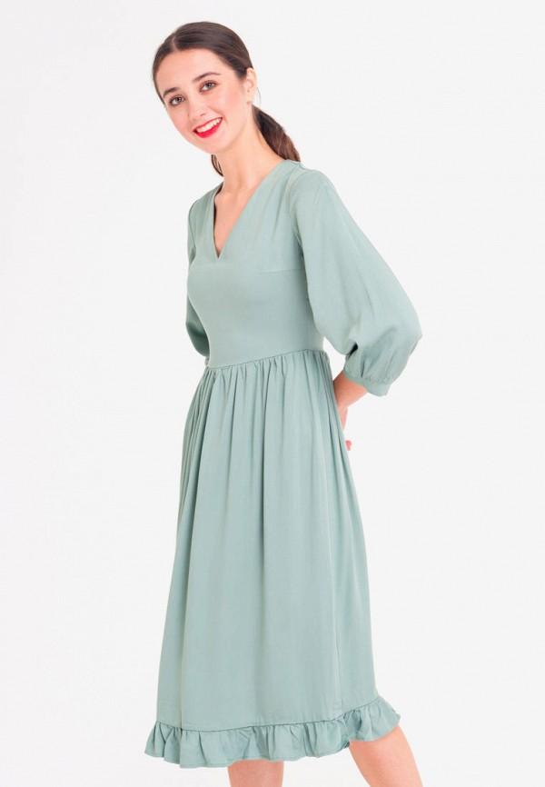 платье  shtoyko, бирюзовое