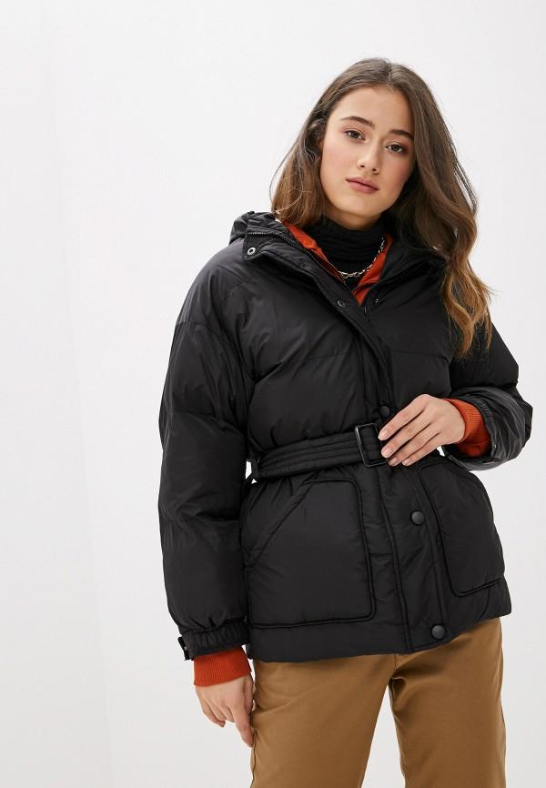 женская утепленные куртка keddo, черная
