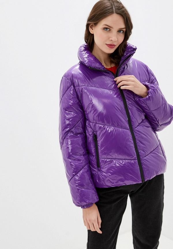 женская куртка keddo, фиолетовая