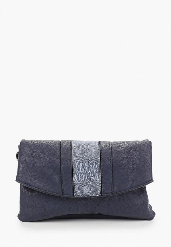 женская сумка через плечо keddo, синяя