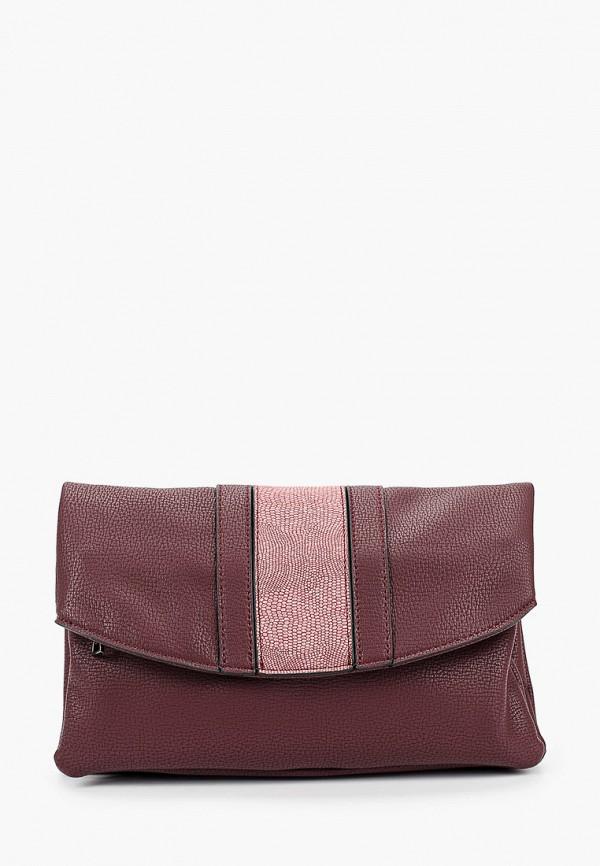 женская сумка через плечо keddo, бордовая
