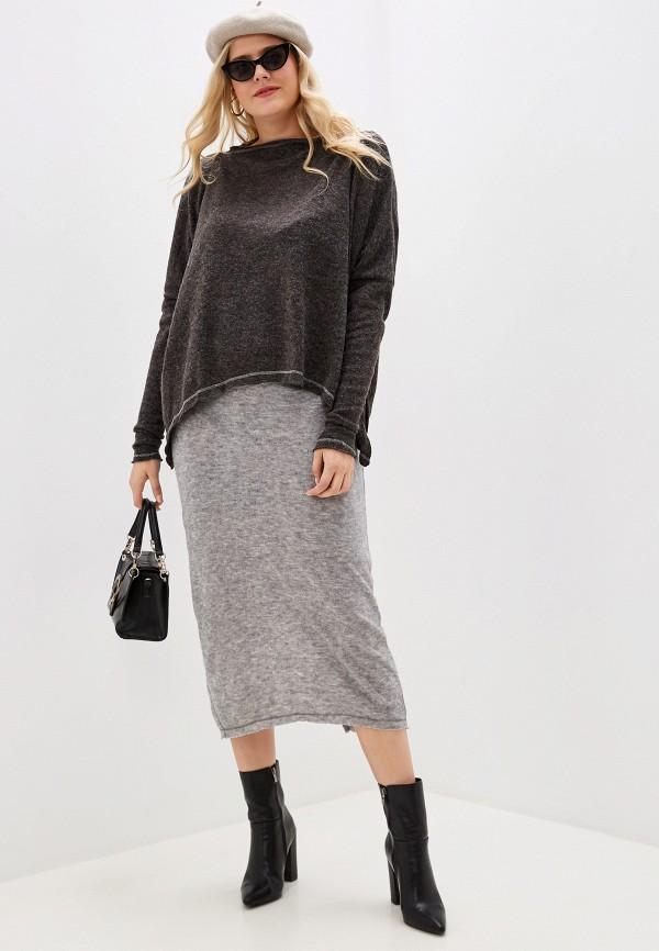 женский костюм love vita, серый