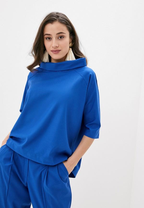 Фото - Женскую блузку Ummami синего цвета