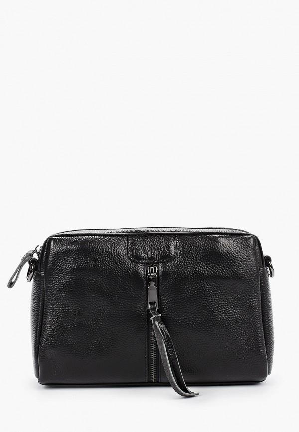 женская сумка через плечо evita, черная