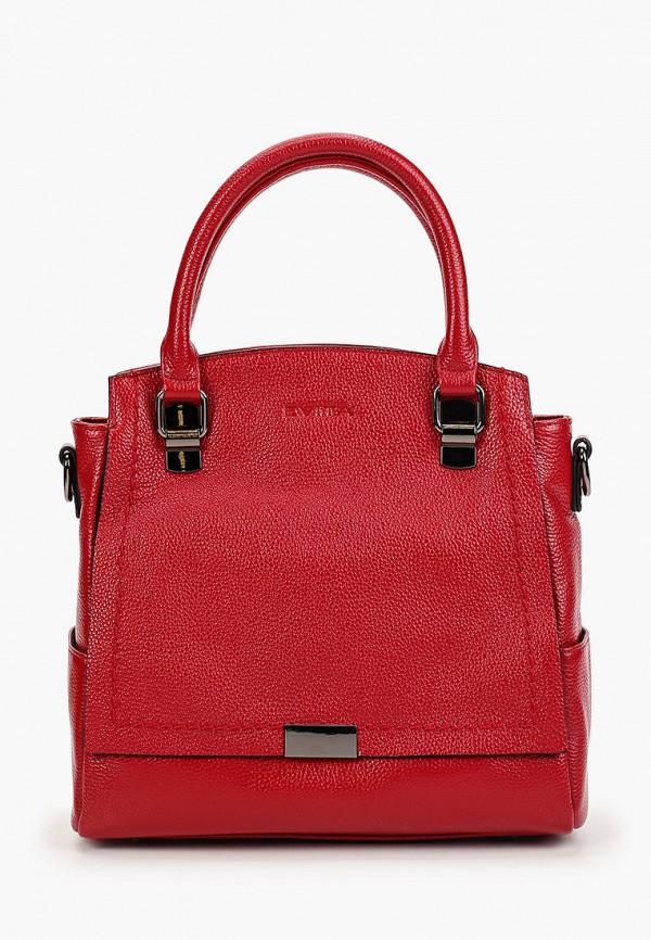 женская сумка evita, красная