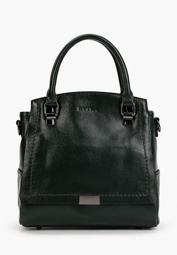 женская сумка evita, зеленая
