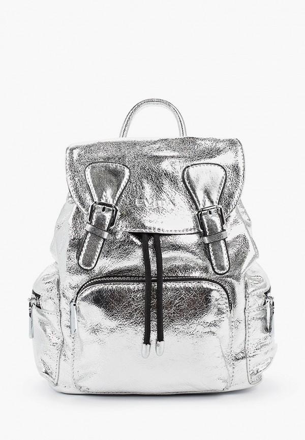 женский рюкзак evita, серебряный