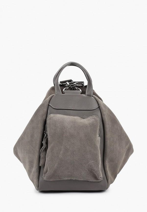 женская сумка через плечо evita, серая