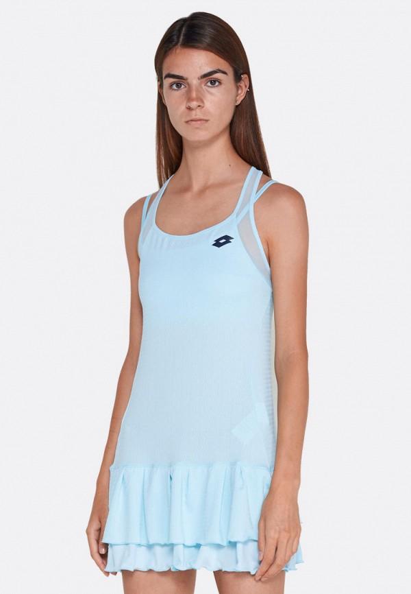 женское платье lotto, голубое