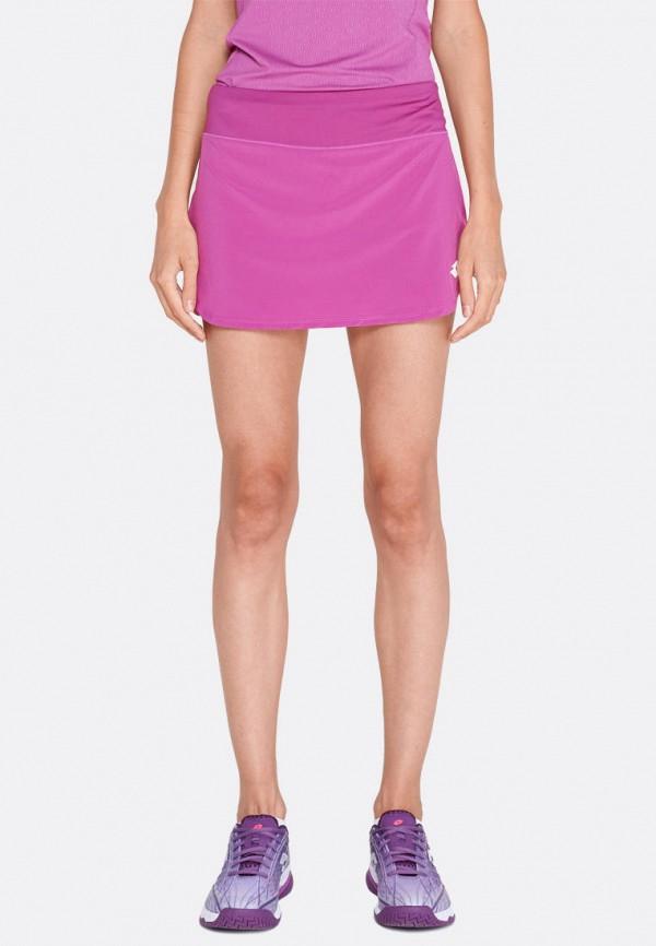 женская спортивные юбка lotto, фиолетовая