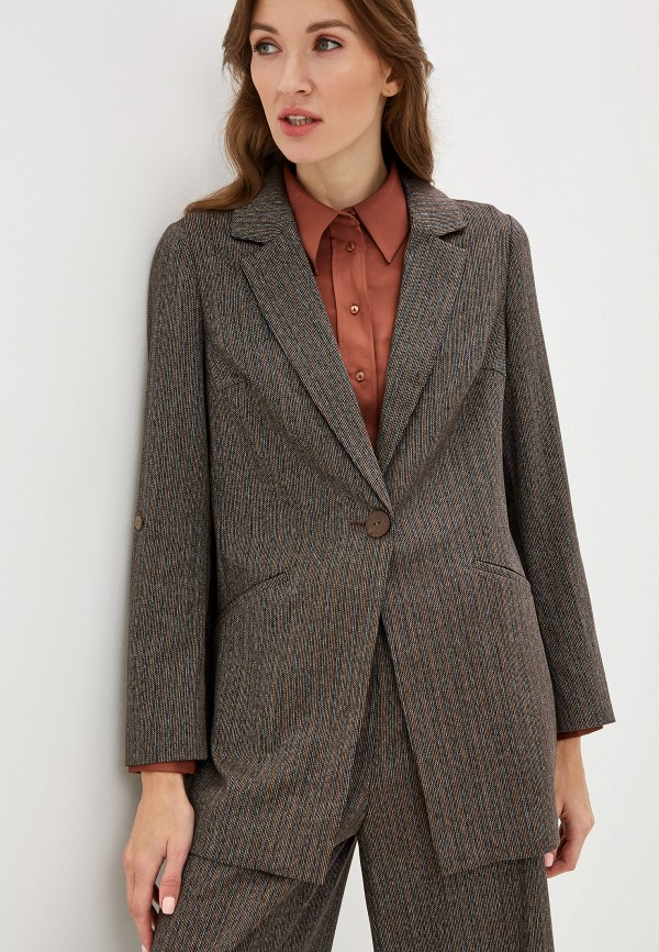 Жакет ASV Fashion Design ASV Fashion Design  коричневый фото