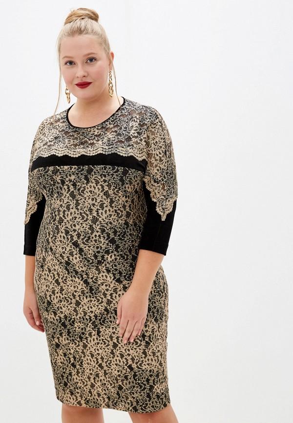 Платье ASV Fashion Design ASV Fashion Design  золотой фото