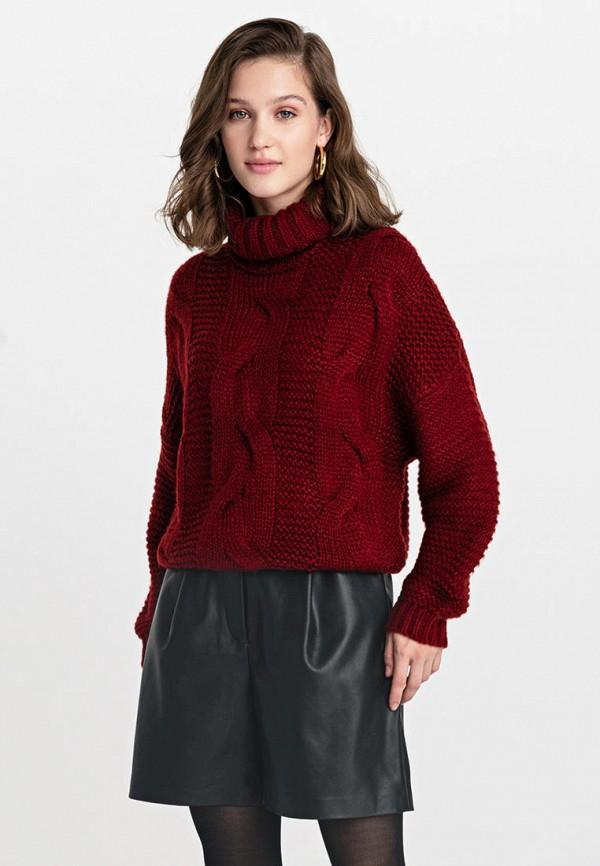 Свитер Befree Befree MP002XW155IE бордовый женский свитер