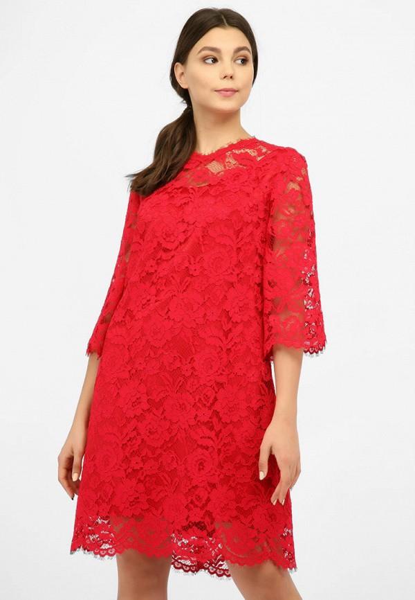 женское вечерние платье miodress, красное