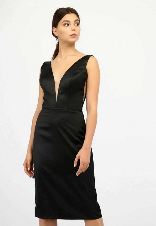 женское вечерние платье miodress, черное