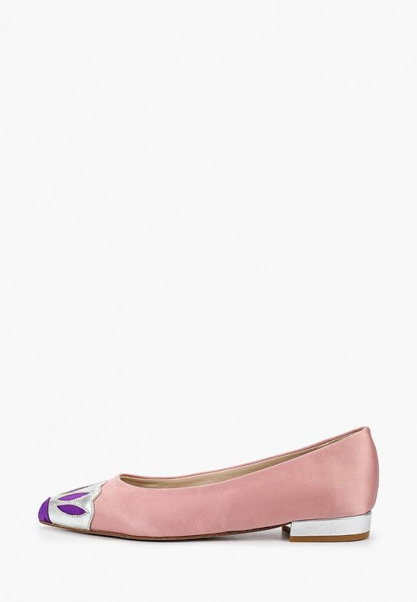 женские балетки rivadu, розовые