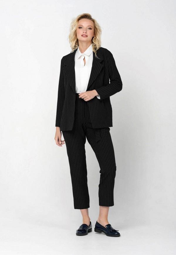женский костюм ricamare, черный