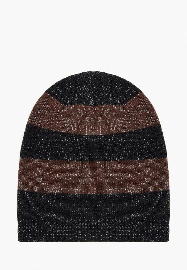 женская шапка mellizos, коричневая