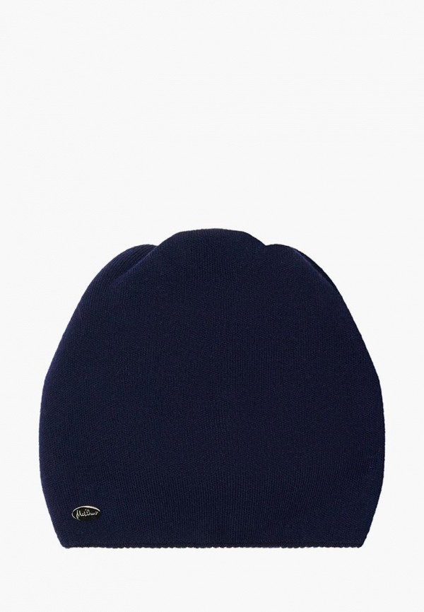 женская шапка mellizos, синяя