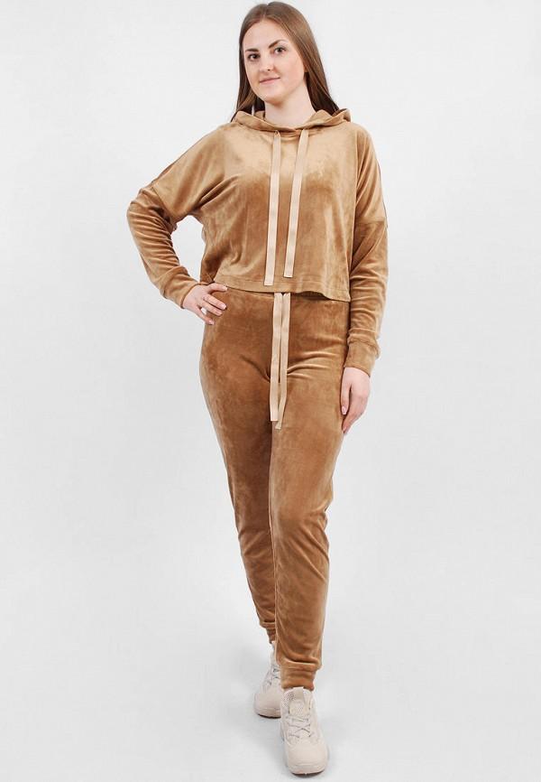 женский спортивные спортивный костюм sab, коричневый