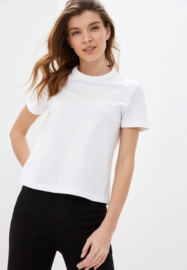 Фото - Женскую футболку Befree белого цвета