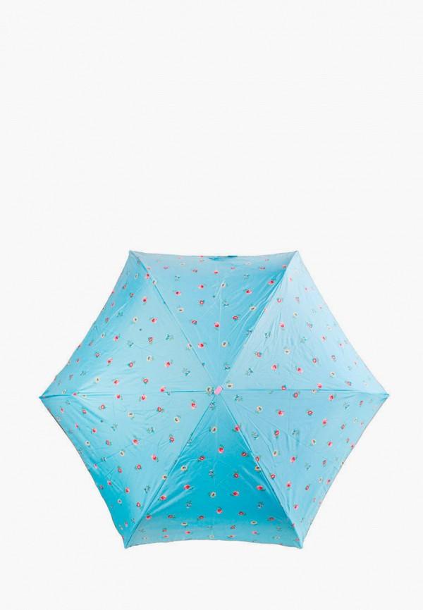 женский зонт fulton, голубой
