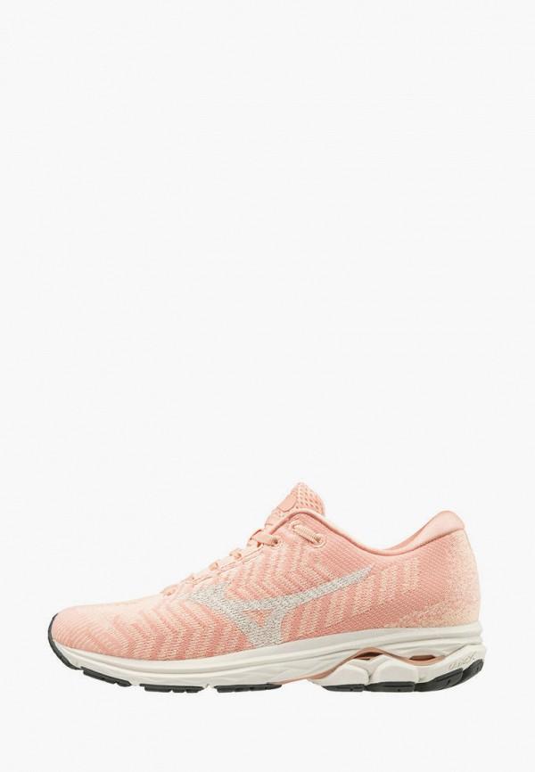 женские кроссовки mizuno, розовые