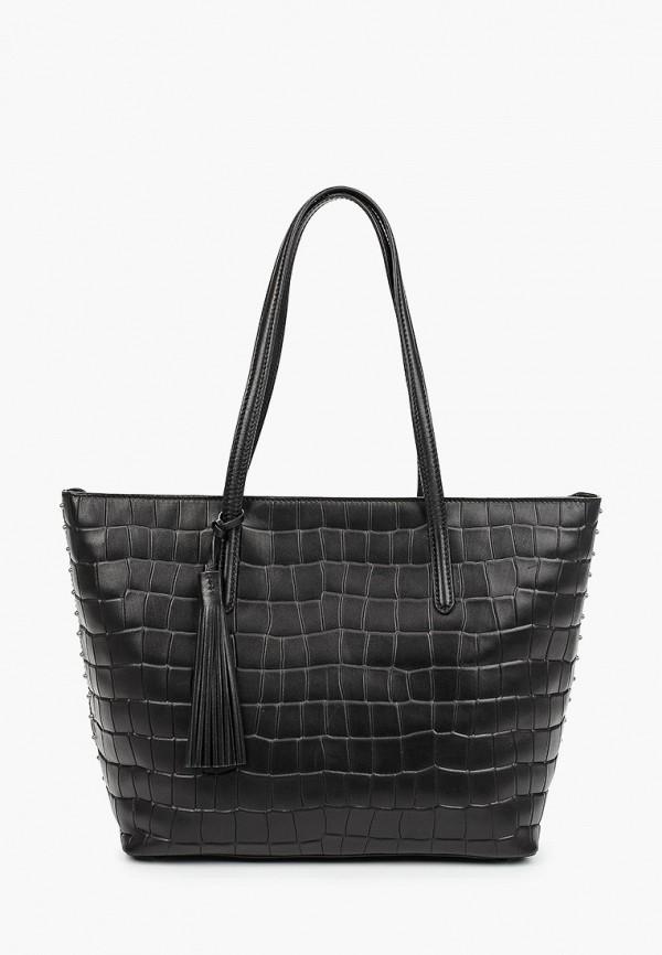 женская сумка-шоперы eleganzza, черная
