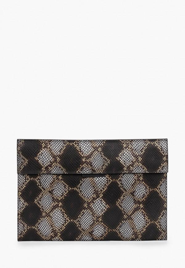 женский клатч eleganzza, серый