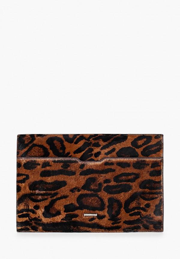 женский клатч eleganzza, коричневый