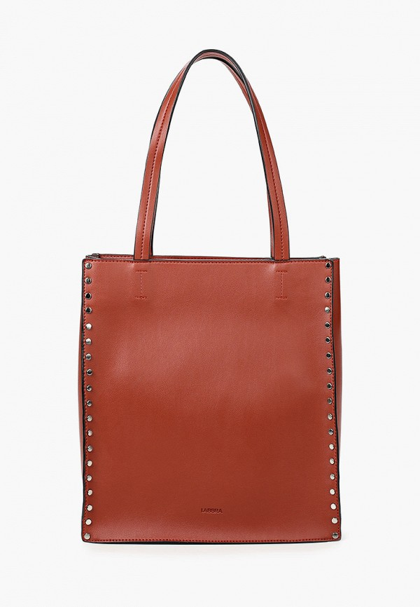 женская сумка-шоперы labbra, коричневая