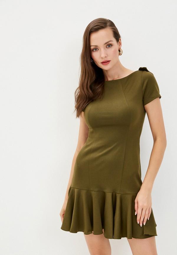 Платье Alasia Fashion House Alasia Fashion House  хаки фото