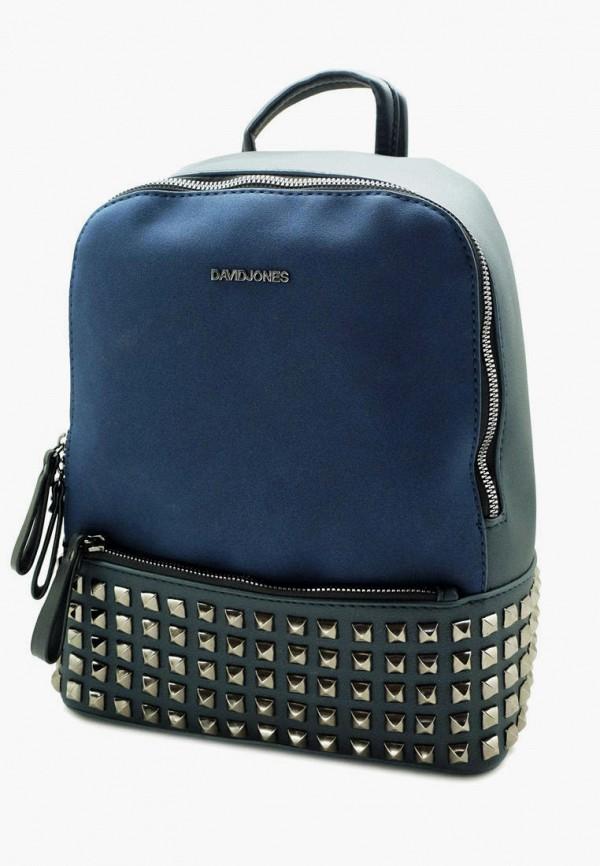 женский рюкзак david jones, синий