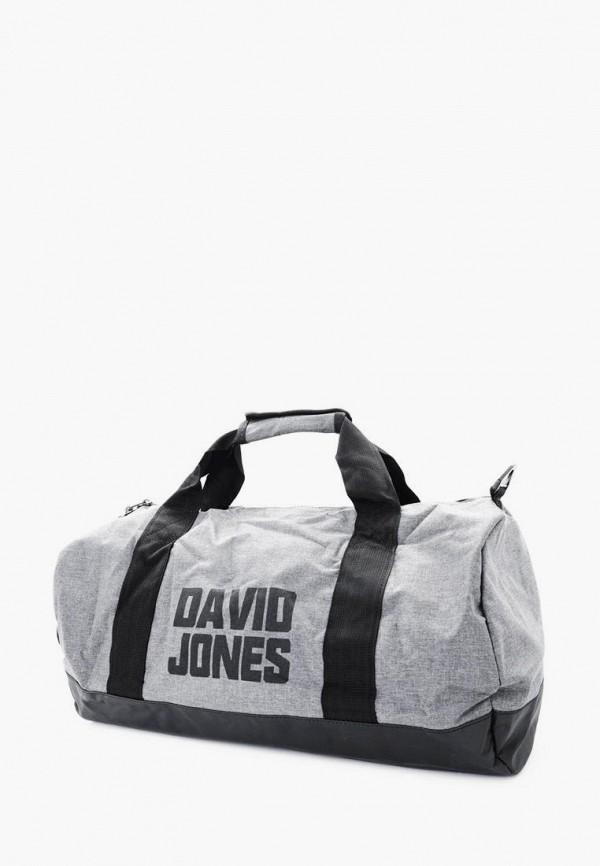 женская сумка david jones, серая
