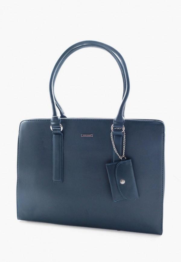 женская сумка david jones, синяя