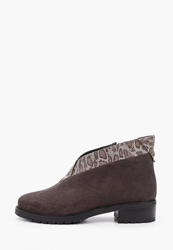 женские низкие ботинки ascalini, коричневые