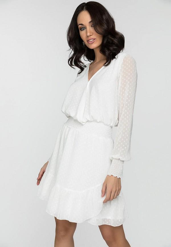 женское повседневные платье gloss, белое