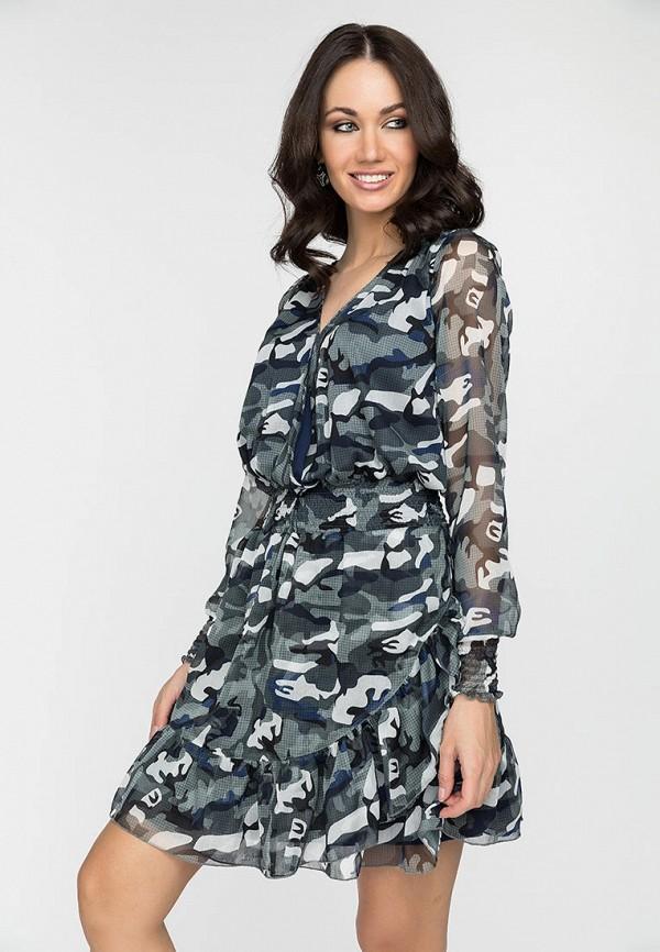 женское повседневные платье gloss, разноцветное