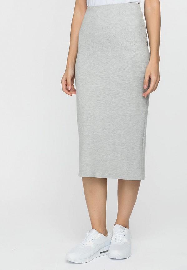женская узкие юбка gloss, серая