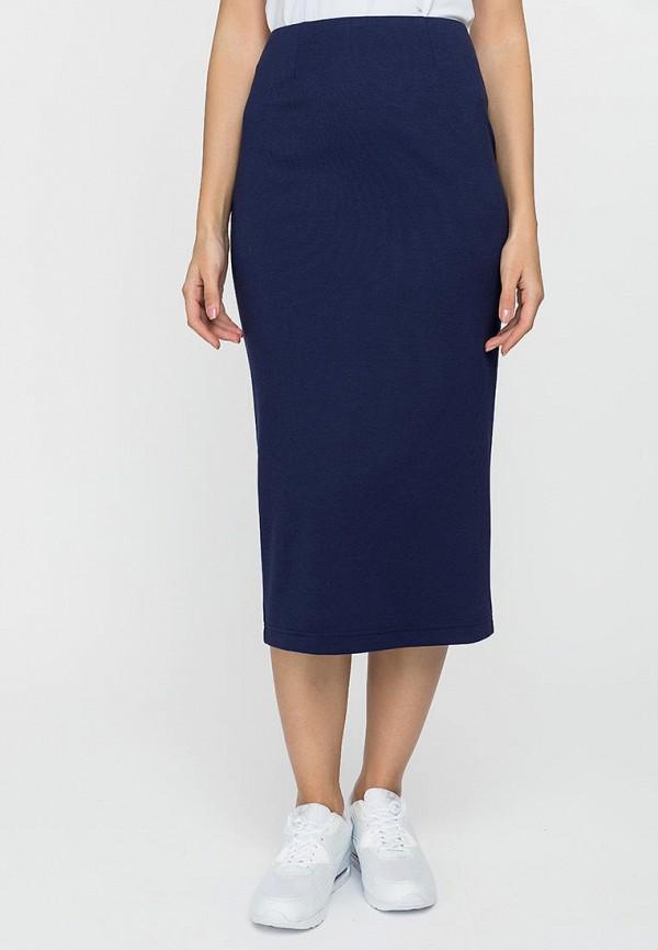 женская узкие юбка gloss, синяя