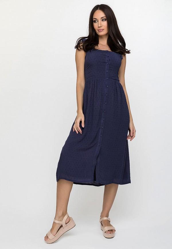 женский сарафан gloss, синий