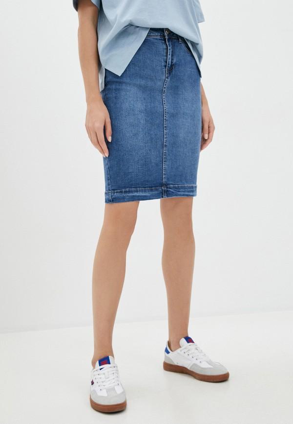Юбка джинсовая Vilatte