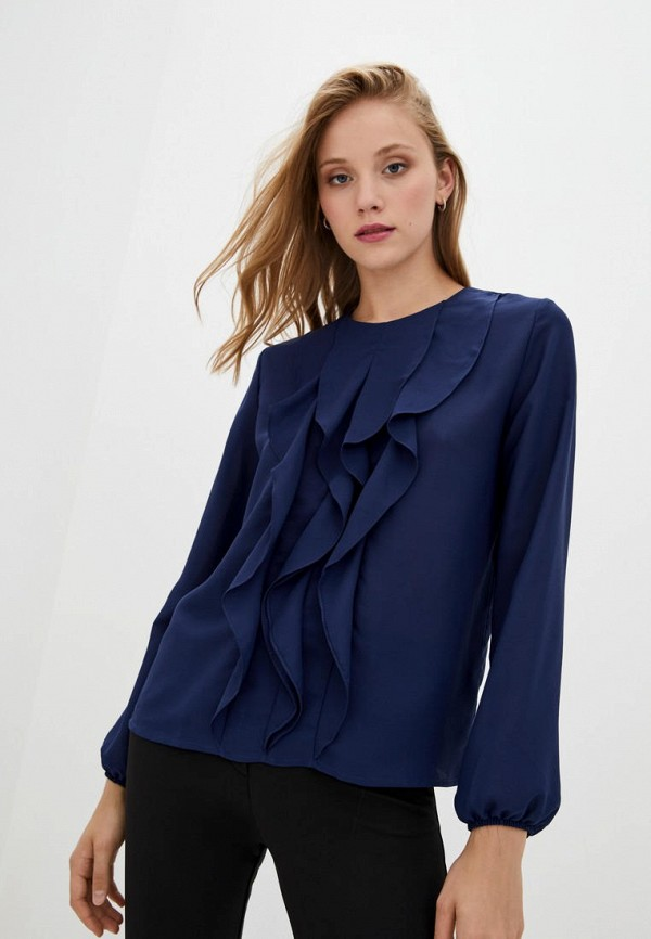 женская блузка arefeva, синяя