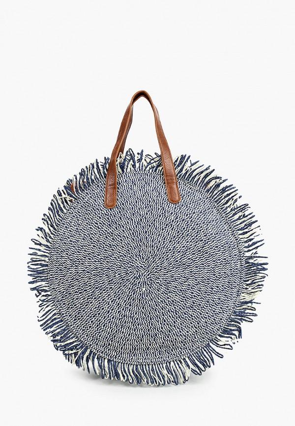 женская сумка через плечо dispacci, синяя