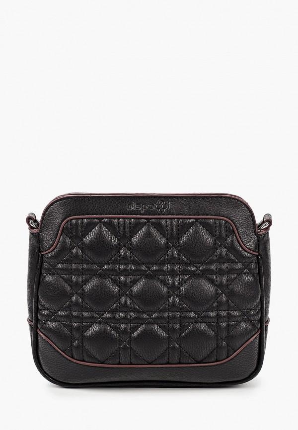 женская сумка через плечо dispacci, черная