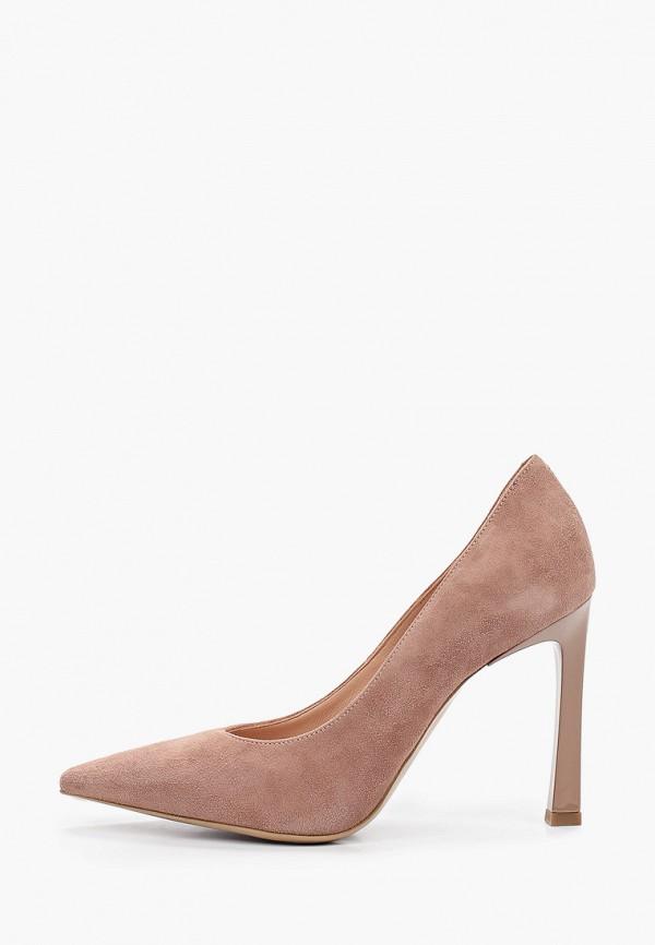женские туфли-лодочки giotto, коричневые