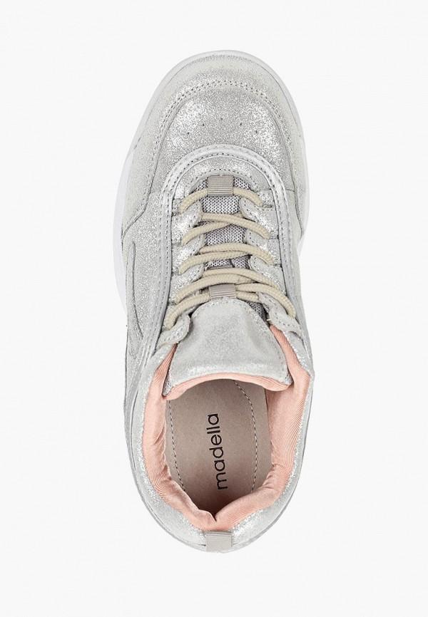 Фото 4 - Кроссовки Madella серебрянного цвета